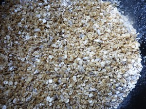 Linseed and oat winter booster for wild-birds