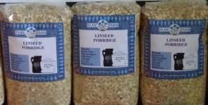 Best Gluten-free baking flour Flax Farm Linseed Porridge