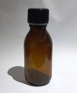 Dark glass, uv-proof, light-proof bottles for flaxseed linseed oil