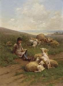 Shepherds of Sussex would wear similar linen smocks