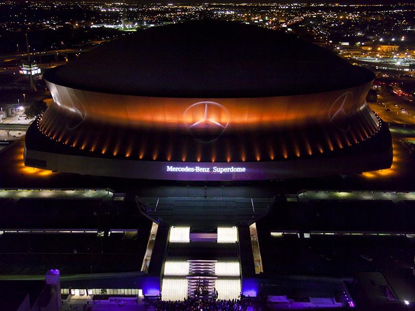Louisiana Superdome Renovations