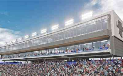 Louisiana Tech Pressbox Expansion