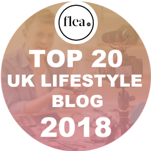 Flea Network Top 20 UK Lifestyle Blog 2018