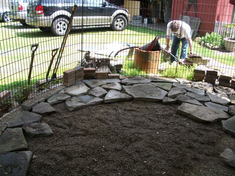 Flagstone is set
