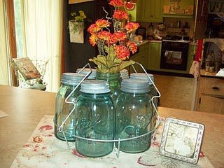 MaryDee Burch Moore 's classic collection of mason jars