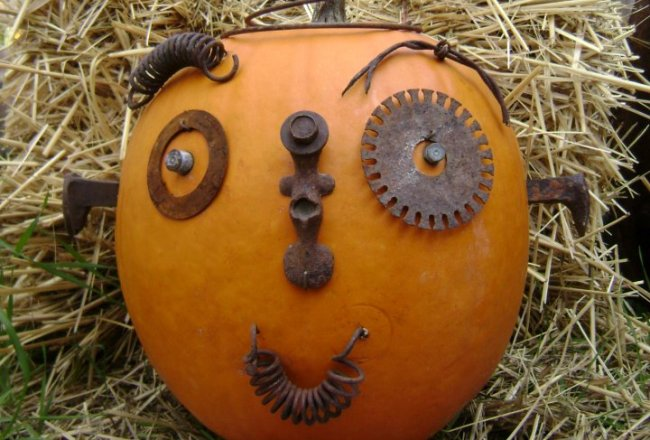 Jack, the Rusty Junkin' Punkin'