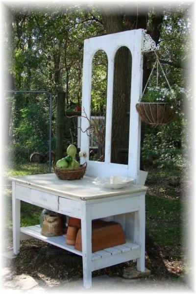 Jeanne Sammons's garden display space