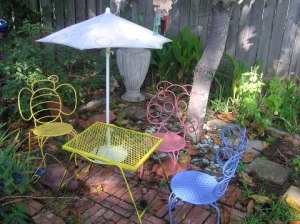 Sydney Minor's memory garden