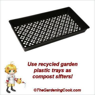 Carol Speake's compost screen