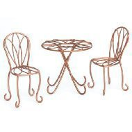 Fairy Gardening Mini Bistro Set