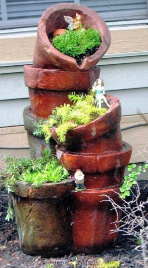 Jenny Alexander's repurposed fountain