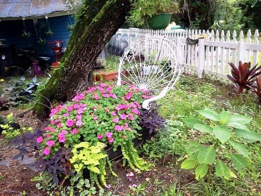 Sissi Wedgwood's cute flowery lounge