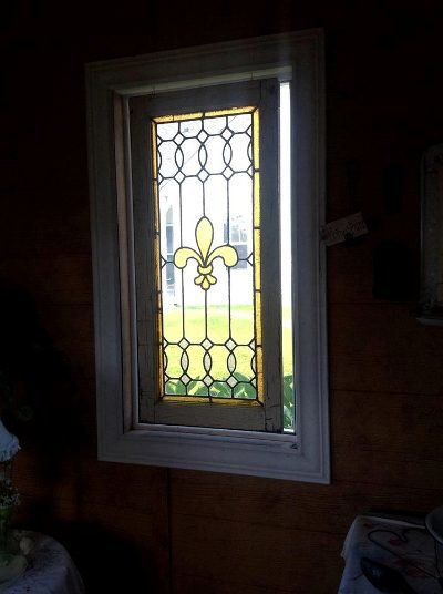 $10.00 stained glass church window