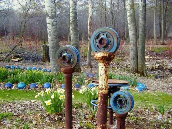 Lark's early Spring garden