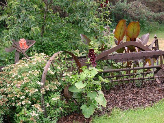 Jeanne Sammons's hay rake