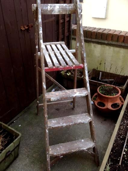 Ladder, before