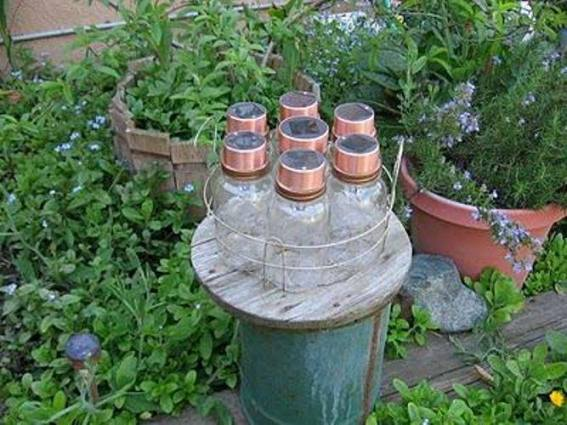 12 Chandeliers transformed for the garden Flea Market Gardening