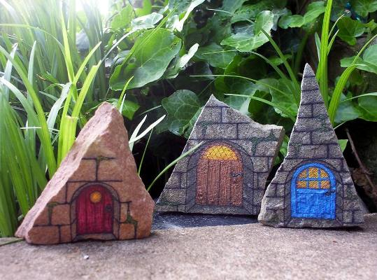 "Eugenia LaBar says, ""And don't forget the Fairy Doors!"""