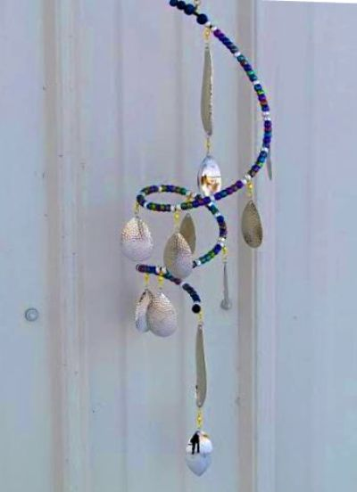 Nancy Carter's elegant suncatcher
