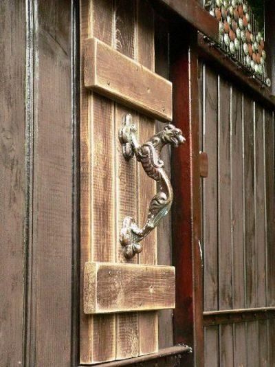Unique door handle