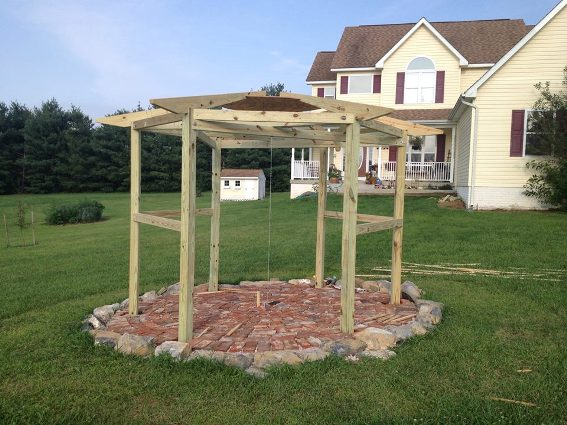 Basic structure is finished all from Doug's design