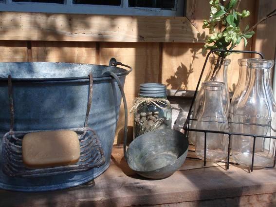 """""""My garden cabin's front porch"""""""