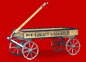 Antonio Pasin first made the Liberty wagon
