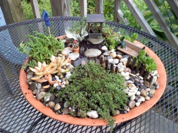 Make Your Own Fairy Garden Fence Flea Market Gardening
