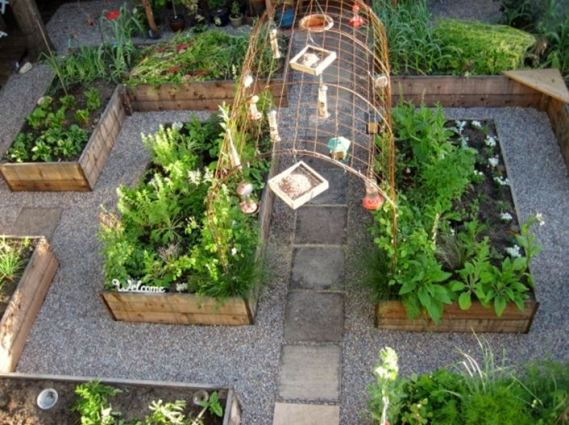 Christel Colla's ideal veggie garden