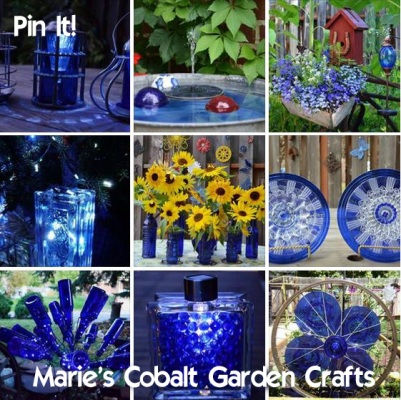 Marie's Cobalt Garden crafts Pin it!