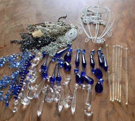 Sun catcher supplies