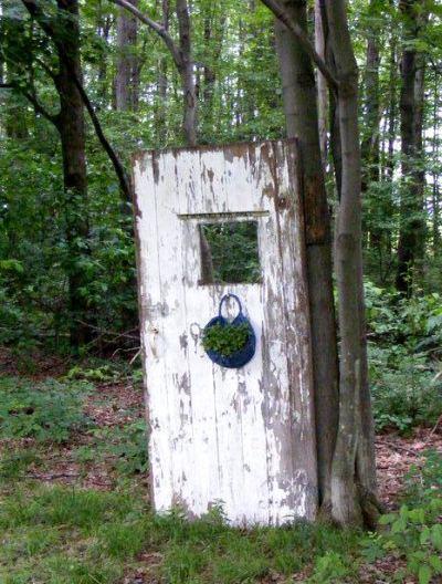 Sandra Perciful's woodland door