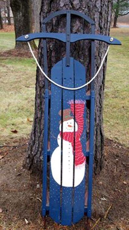 Beth Reis transformed a vintage sled