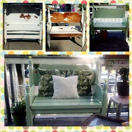 Stacy Castricone's Bedframe to bench