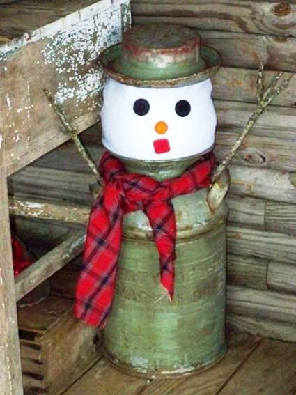 Sue Jordan‎'s simple-to-make snowman