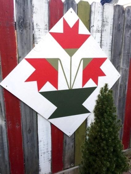 Wanda Clark A barn quilt