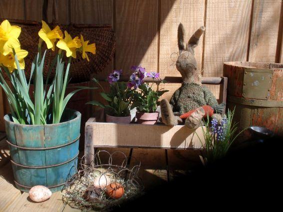 Cherrie's Spring vignette
