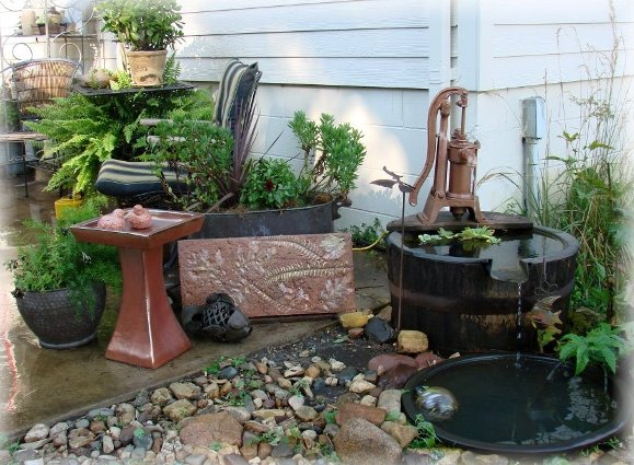 Jeanne Sammons serene barrel pond