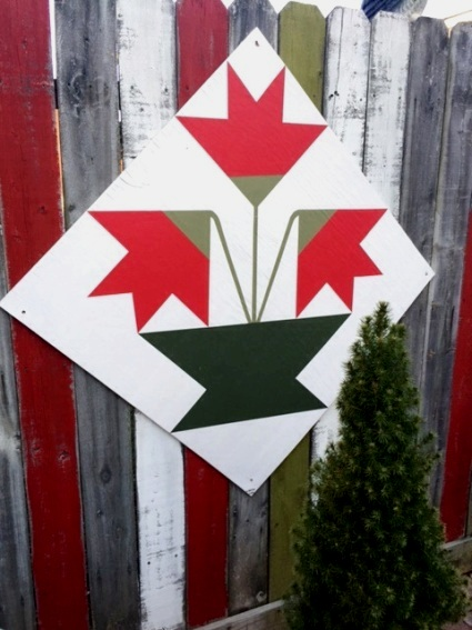 Another barn quilt by Wanda Clark