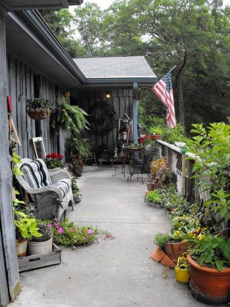 Outdoor Patio Living Flea Market Style Flea Market