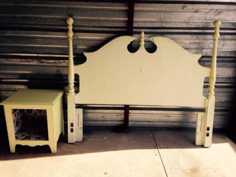 Rhonda Zwart-Crooks's old headboard find