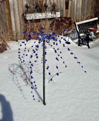 Linda Gladman's garden sparklers