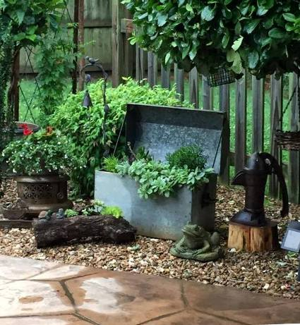 """Brenda Townzen """"This old tool box is definitely one of my favorites , it's right off my patio so we can enjoy it!"""""""