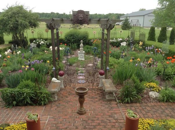 Constance's sun garden gate