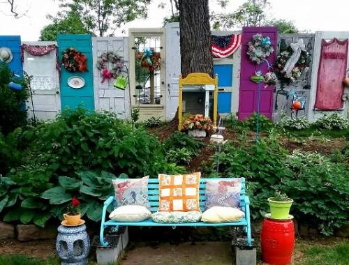 Garden Art Ideas Flea Market Gardening