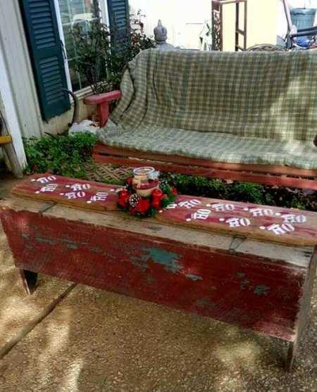 Ammie S Festive Christmas Porch Flea Market Gardening
