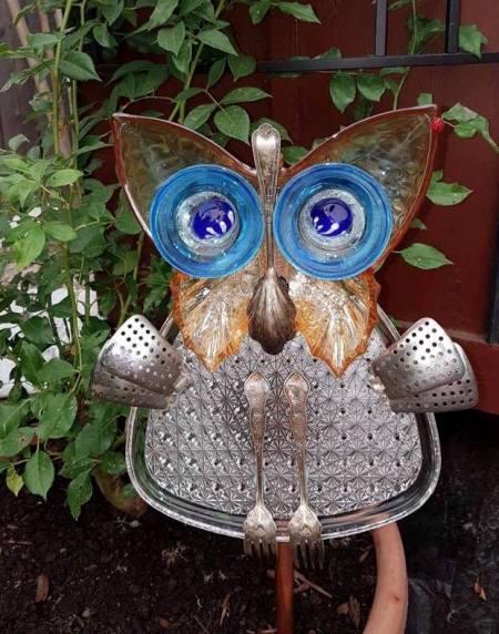 Krista Kenney asks, Whoooooo's in the garden