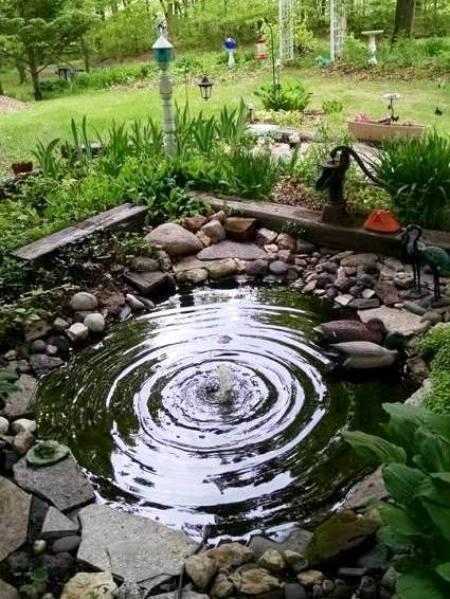 Margie Ann's peaceful round pond