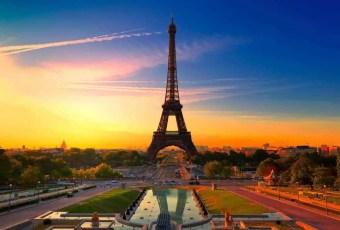 Eiffel Tower Paris FranceLD
