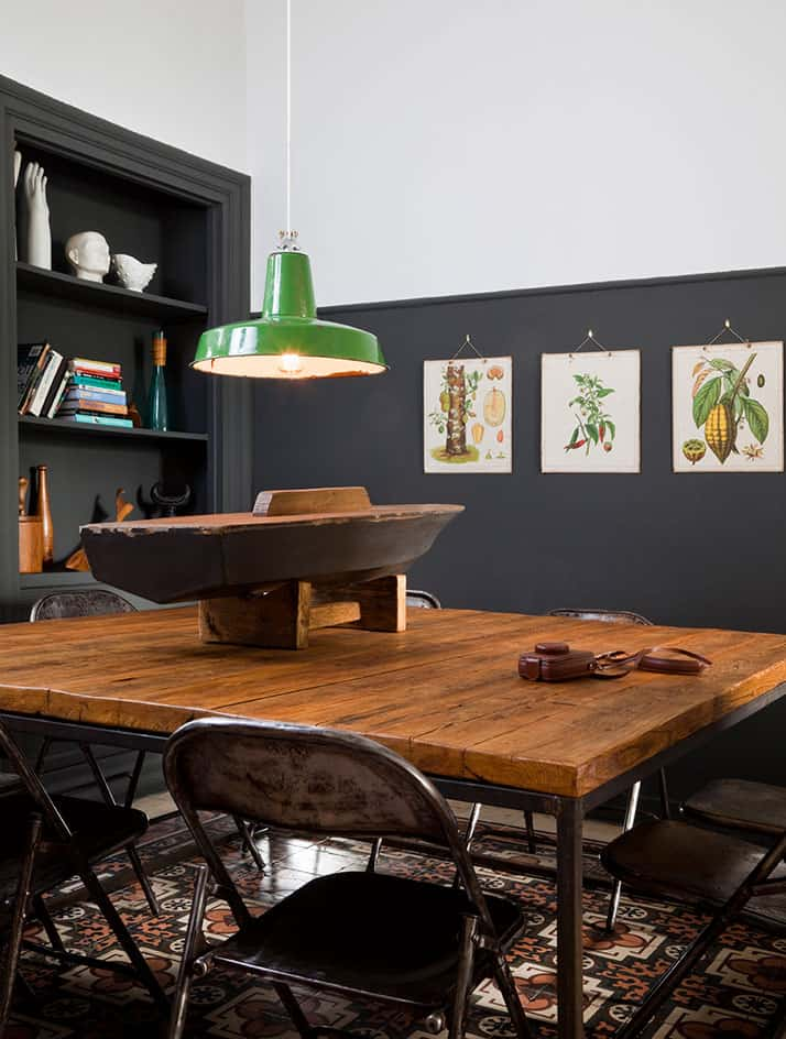 Vintage Industrial Furniture And Designer Vintage By Alketas Pazis: Wood  And Metal Vintage Industrial Table